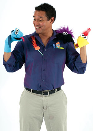Noel Macneal Puppeteer With Sesame Street And The Muppets