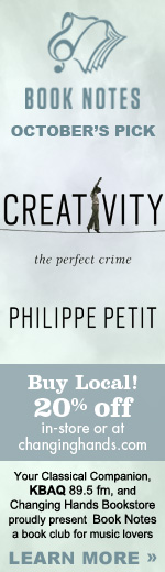 Booknotes recommends Creativity by Philippe Petit