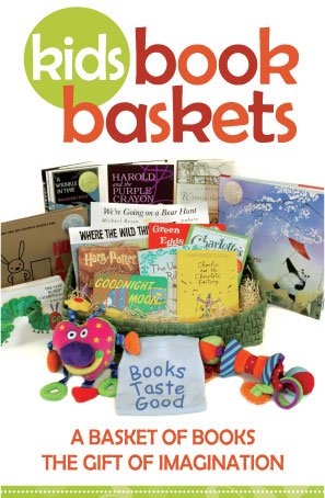kids book basket