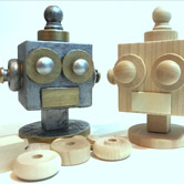 Little Robot Head Paper Weight