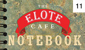 The Elote Cafe Notebook