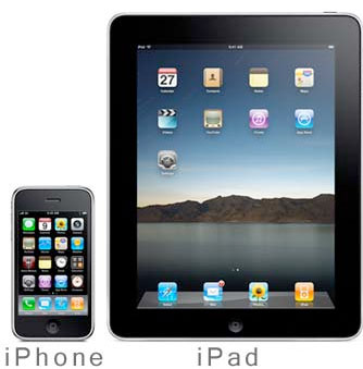 iPad, iPhone and iPod Touch