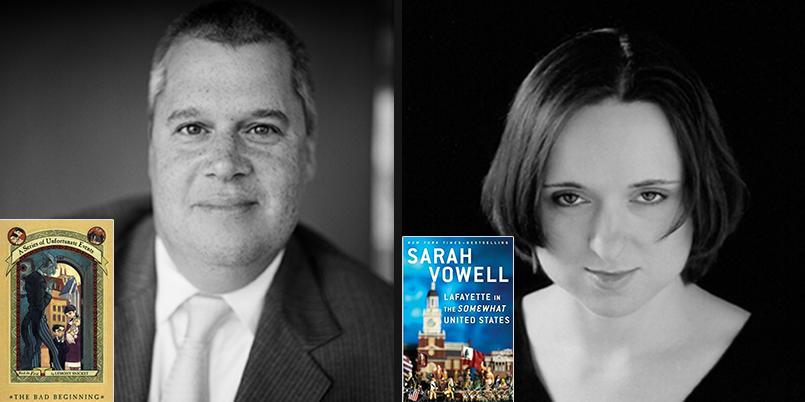 Daniel Handler and Sarah Vowell