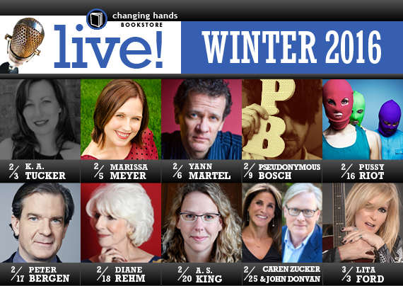 Live at Changing Hands Bookstore: Winter 2016